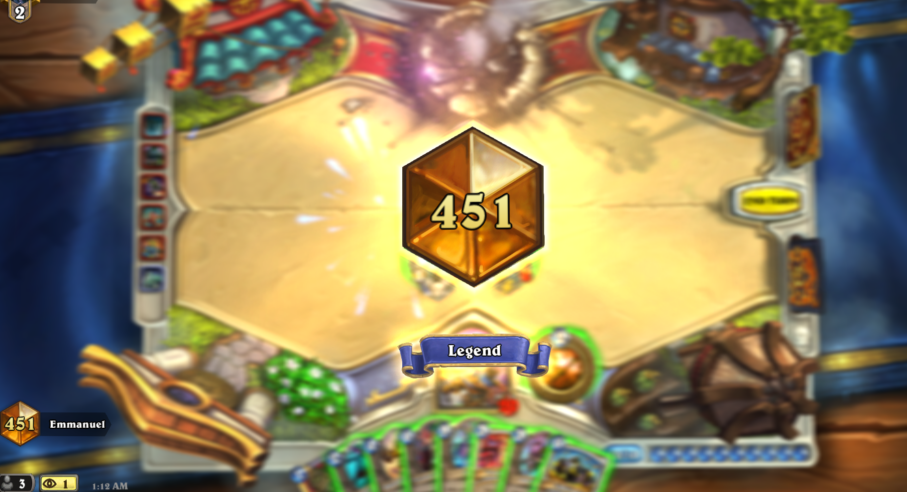 Hearthstone Legend Rank